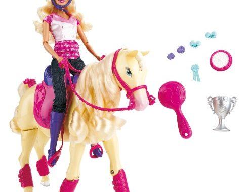 barbie et cheval champion