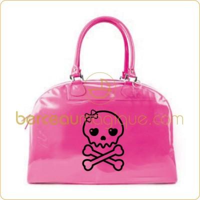 sac à langer rose fluo