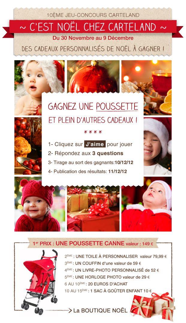 """Concours """"Le Noel de Carteland"""""""